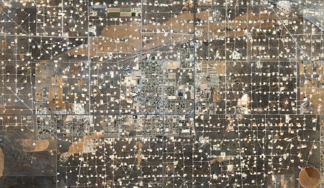 , 'Wasson Oil and Gas Field,' 2013, Bruce Silverstein Gallery