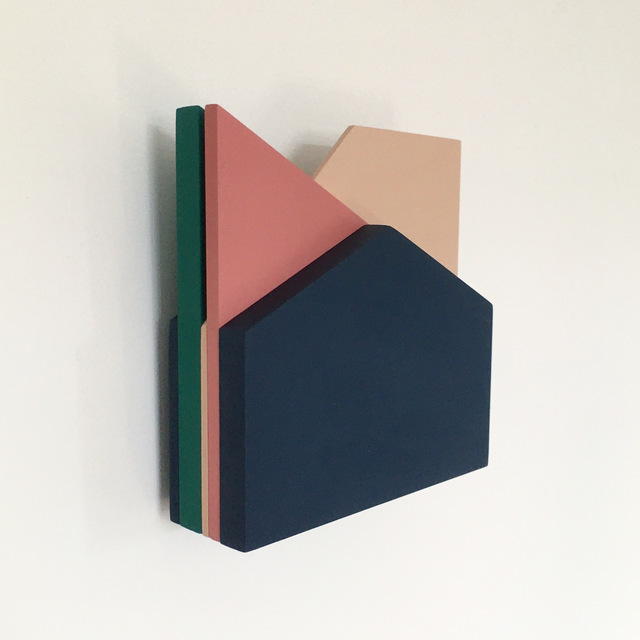 Laura Jane Scott, 'Perspective Study 010', 2019, Sculpture, MDF and Interior Paint, &Gallery