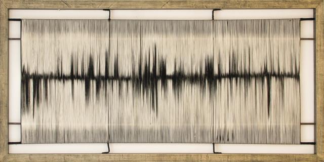 Vanessa Gomez, 'Estudio de luz y sombra IV', 2019, Textile Arts, Cotton thread, Galería La Cometa