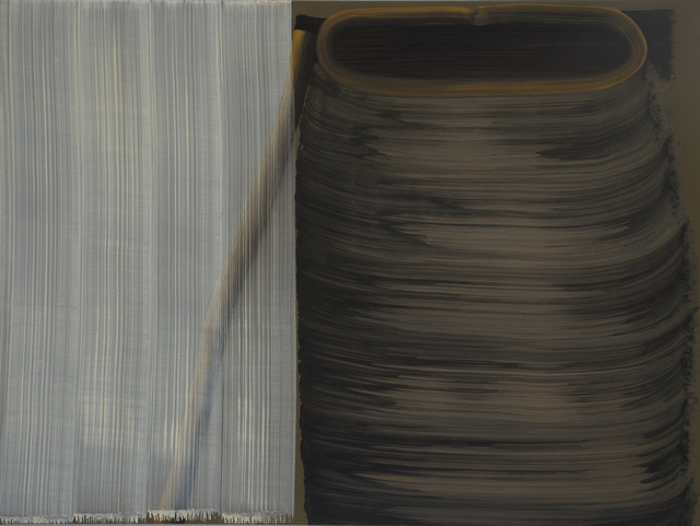 , '5 Brushstrokes over 1 Brushstroke and 8 Brushstrokes,' 2012, Zeno X Gallery