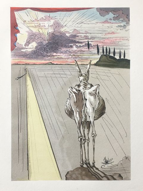 Salvador Dalí, 'Une femme vue du dehors', 1959, Drawing, Collage or other Work on Paper, Xylograph, Dali Paris
