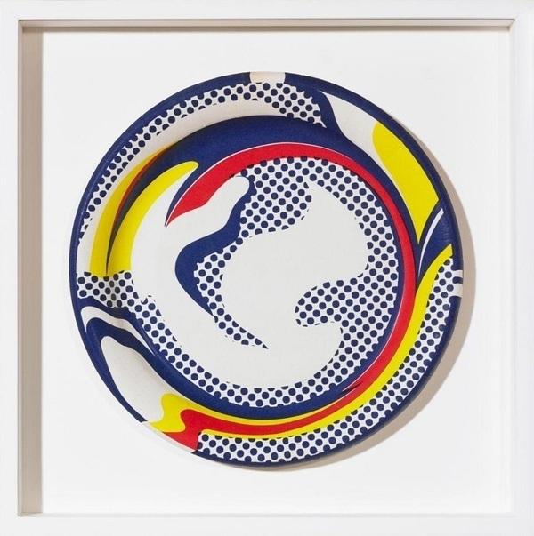 Roy Lichtenstein, 'PLATE', 1969, Marcel Katz Art