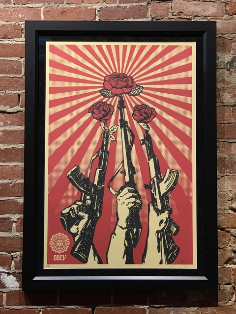 , 'Guns and Roses,' 2007, Mason-Nordgauer Fine Arts Gallery