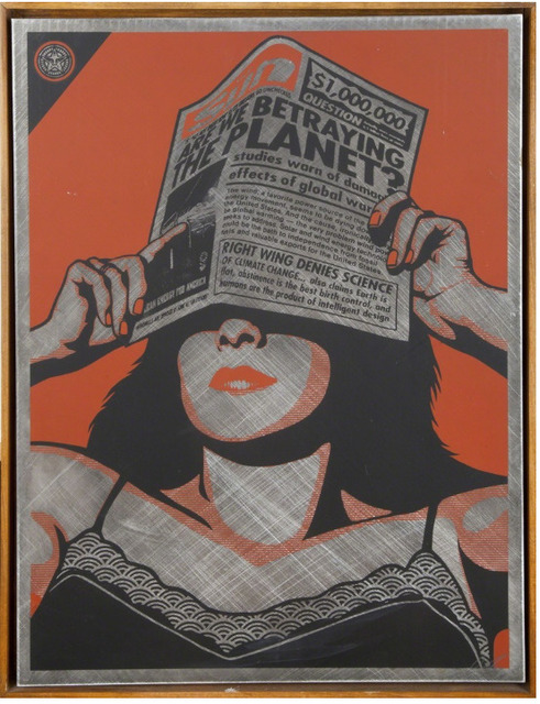 Shepard Fairey, 'Global Warming', 2010, Chase Contemporary