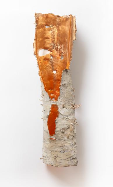 , 'Birch Bark Icon (Copper),' 2017, Sunne Savage Gallery