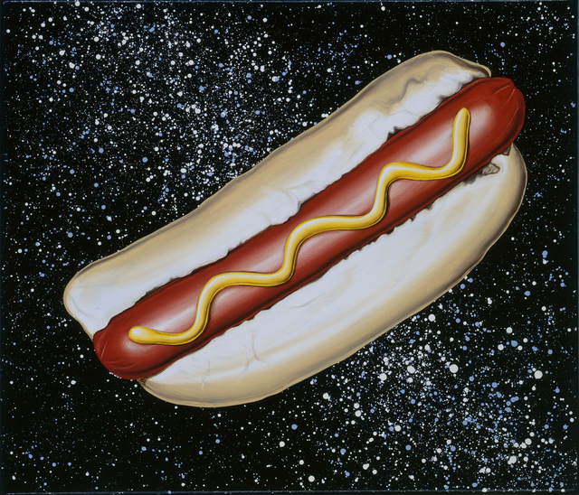 , 'Hot Dog In Space,' 2008, David Klein Gallery