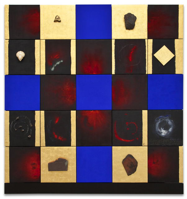 Lita Albuquerque, 'Wave of the Breath', 1989, Painting, Mixed media, Kohn Gallery