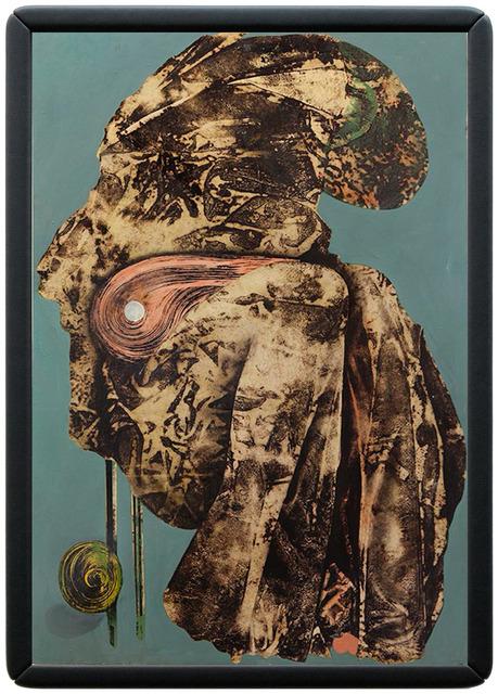 , 'vermummte person (mummed person),' 2016, galerie burster