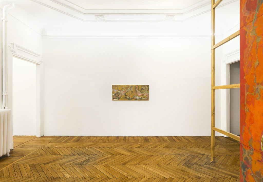 Installation view of the exhibition Fumes at Federica Schiavo Gallery, Milan