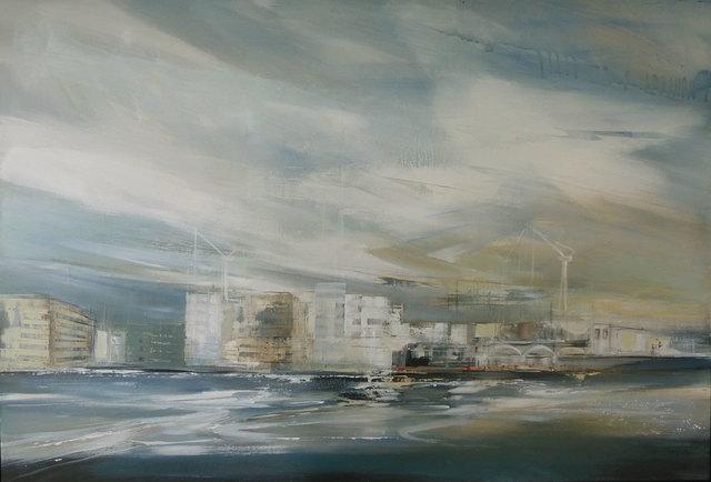 , 'Urban Waterfront,' 2018, Quantum Contemporary Art