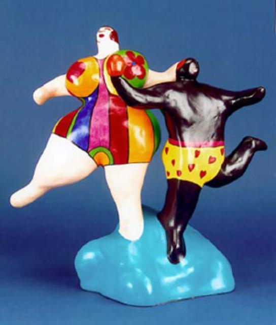 , 'Baigneurs ou Danseurs (Bathers or Dancers),' 1980-1981, Nohra Haime Gallery