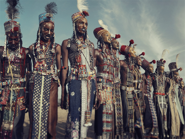, 'XXVIII 1 Wodaabe, Gerewol,  Chad 2016,' 2016, Absolute Art Gallery