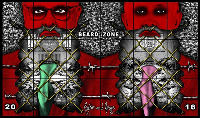 , 'Beard Zone,' 2016, Alfonso Artiaco