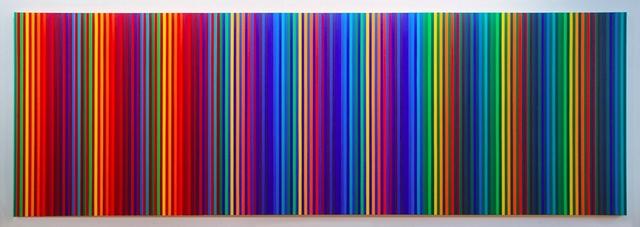 Gabriele Evertz, 'Spectrum + RBG', 2009, Painting, Acrílico sobre tela, Museo de Arte Contemporáneo de Buenos Aires