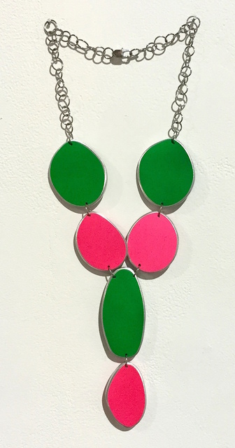, 'Green & Pink Neon Necklace,' 2015, Pan American Art Projects