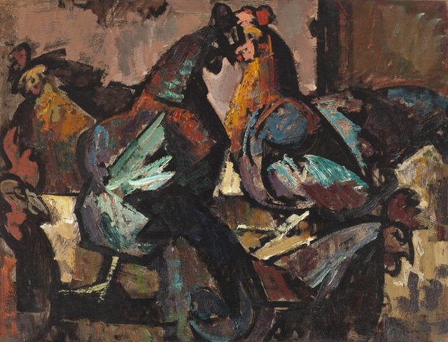 , 'Hens in Sunlight,' 1947, Childs Gallery