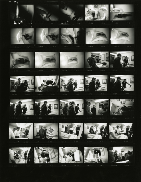 Steve Schapiro, 'Andy Warhol, Castelli Gallery, New York (Contact Sheet)', 1965, Fahey/Klein Gallery