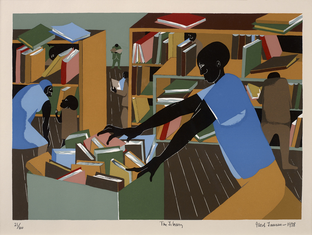 , 'The Library,' 1978, Debra Force Fine Art