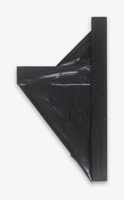 Takesada Matsutani, 'Triangle -09-1-2', 2009, Sculpture, Graphite, vinyl, paper and wood, Japan Art - Galerie Friedrich Mueller