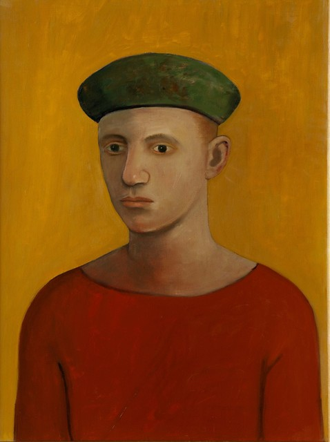 , 'Boy (with beret),' 2013, Flowers