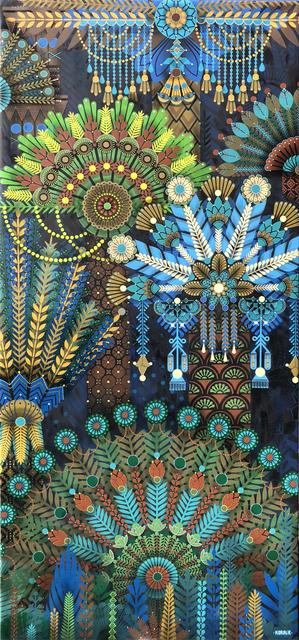 , 'Palm Garden 2,' 2018, Jonathan LeVine Projects