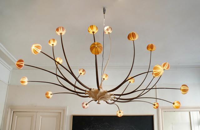 , 'Large sea urchin chandelier with 22 branches,' 2016, Antonine Catzéflis