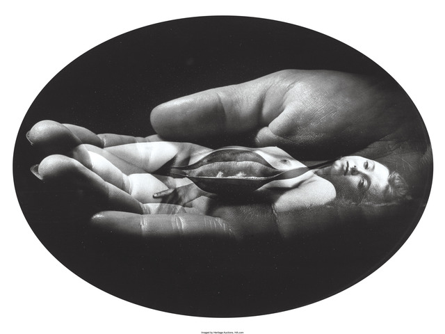 Jerry Uelsmann, 'Untitled (Woman, Hand, Pod)', 1972, Heritage Auctions