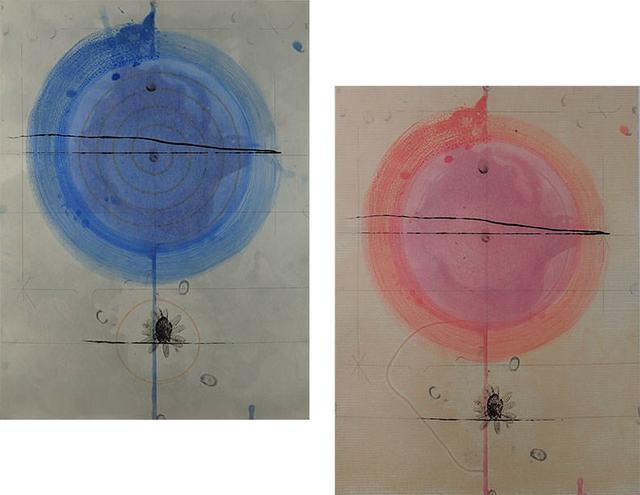 Shoichi Ida, 'No. 4 & No. 5', 1989, Print, Etchings, Capsule Gallery Auction