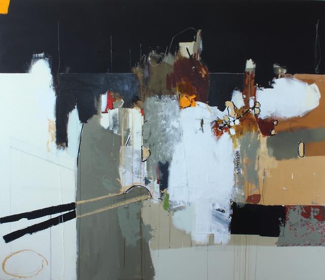 , 'Matières en mouvement 10,' 2017, Galerie de Bellefeuille