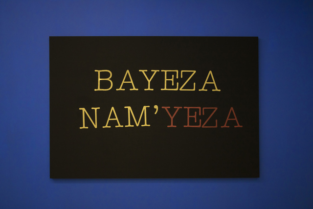 Lhola Amira, 'Bayeza nam'yeza', 2019, SMAC