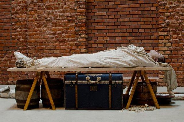 Manuel Frolik, 'Dead Seaman (self-portrait as an hero)', 2011, Drawing Room
