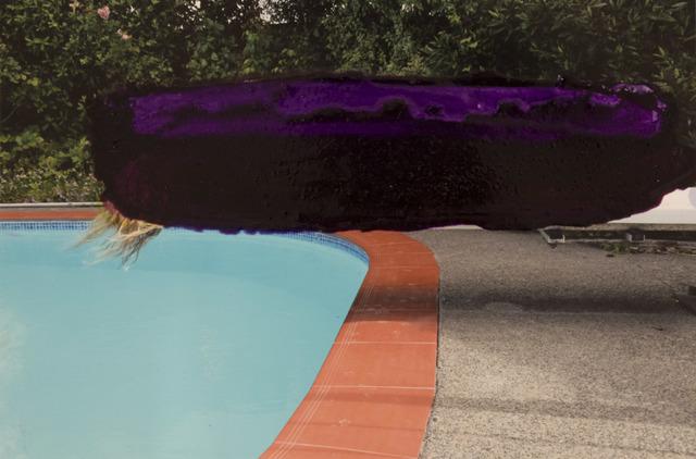 , 'Paint Shadower (purple rain),' 2018, Bartley + Company Art