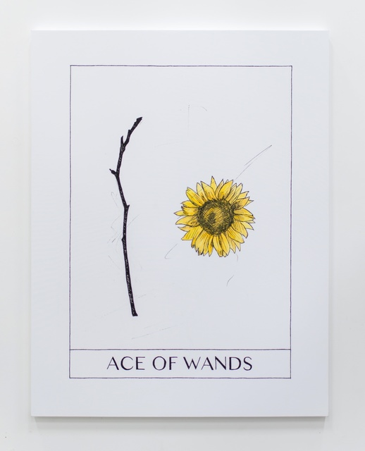 , 'Ace of Wands,' 2017, Ever Gold [Projects]