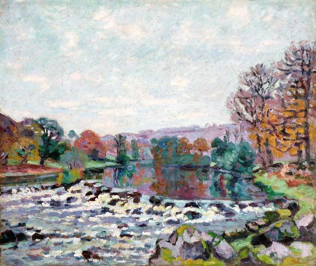 , 'Le Barrage de Genetin (The Genetin Dam),' ca. 1905, R. S. Johnson Fine Art