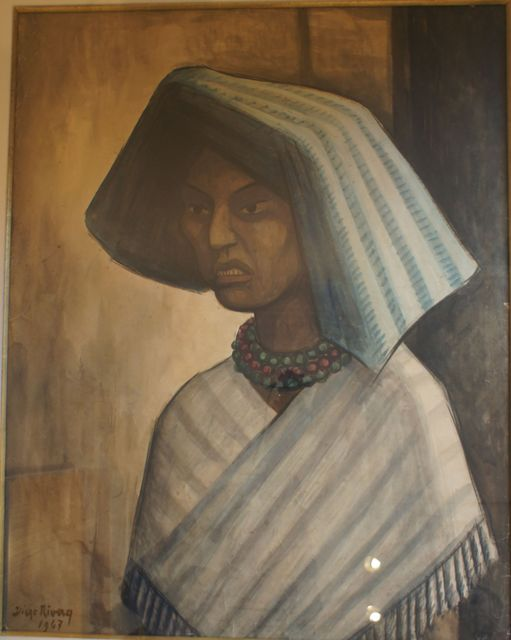 Diego Rivera, 'Portrait of a Mexican Woman', 1947, Leon Tovar Gallery