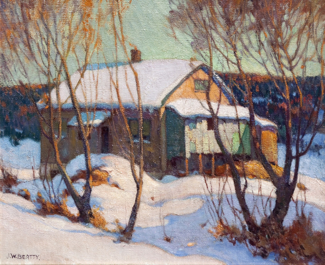 , 'Old House Humber Valley,' 1918, Oeno Gallery