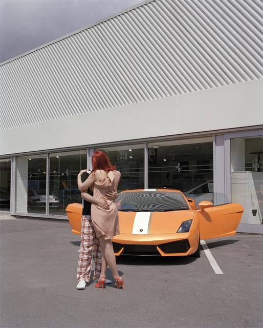 , 'Idilio en Deportivo I (Romance in Sports Car I),' 2011, Berman Arts Agency - Sculpture to Wear
