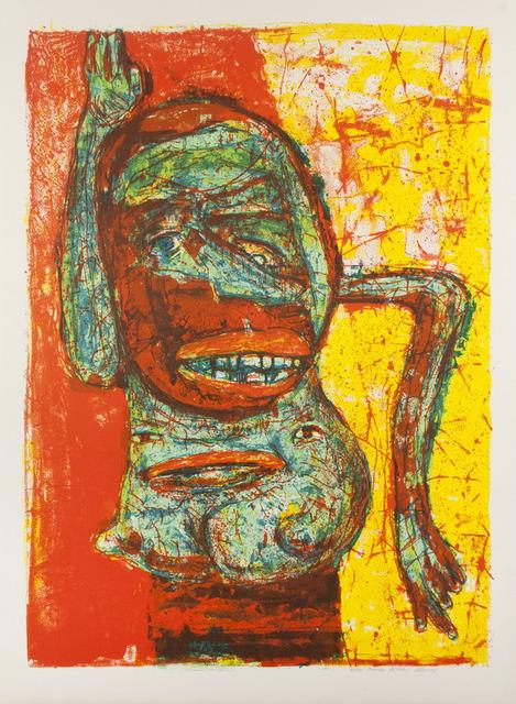 , 'Philadelphia Woman,' 1976, Tamarind Institute
