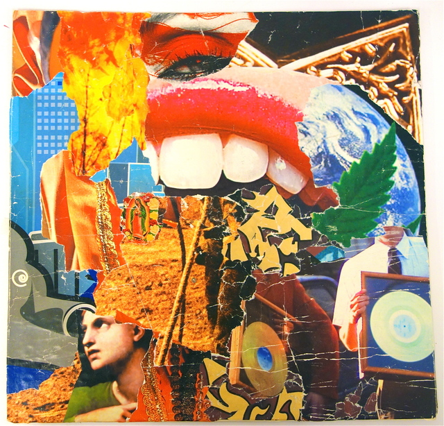 Michael Anderson, 'Bazooka', 2011, Drawing, Collage or other Work on Paper, Street poster collage, Children's Museum of the Arts Benefit Auction
