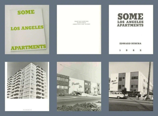 Ed Ruscha, 'Some Los Angeles Apartments (Extremely rare Artist's Book from the mid 1960s, True First Edition - one of only 700 copies in the world.)', 1965, Alpha 137 Gallery Auction