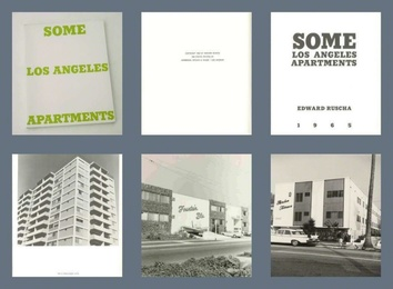 Some Los Angeles Apartments (Extremely rare Artist's Book from the mid 1960s, True First Edition - one of only 700 copies in the world.)