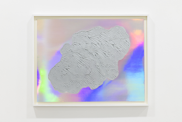 Adam Colton, 'Poem', 2017, Drawing, Collage or other Work on Paper, Acrylic on iridescent paper, Slewe Gallery