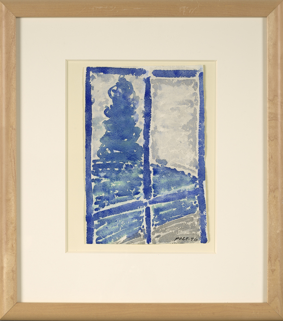 Stephen Pace, 'Untitled (Blue Window)', 1976, Berry Campbell Gallery
