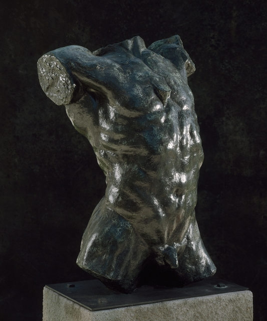 Auguste Rodin, 'Marsyas (Torso of 'The Falling Man')', first modeled ca. 1882; this cast 1970, Los Angeles County Museum of Art