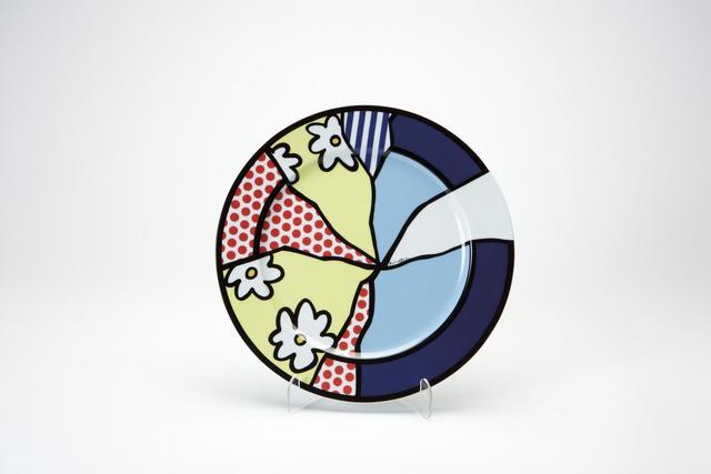 Roy Lichtenstein, 'Rosenthal plate 2', 2000, Sculpture, Ceramic, Kunzt Gallery