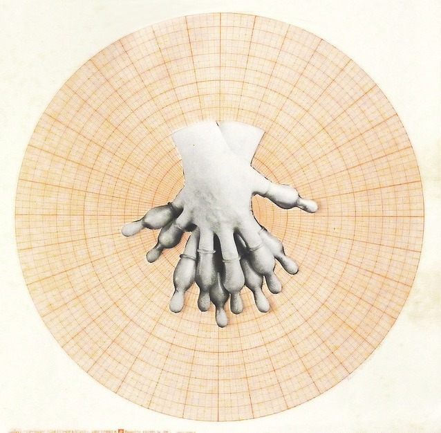 , 'Zärtliche Hände (im Kreis),' 1977, Galerie Steinek