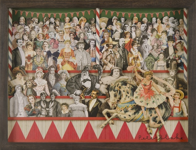 , 'Circus Collage Right ,' 2013, Paul Stolper Gallery