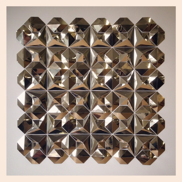 Matt Shlian, 'Silver Test', 2015, Sculpture, Folded paper, Michael Warren Contemporary