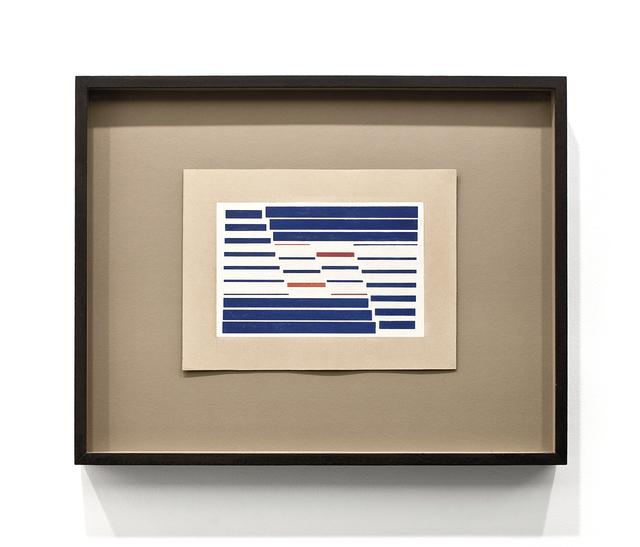 , 'Metaesquema nº 147,' 1955, LURIXS: Arte Contemporânea