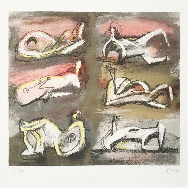 , 'Six Figures,' 1981, Eckert Fine Art
